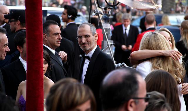 Steve Jobs at the 2010 Oscars