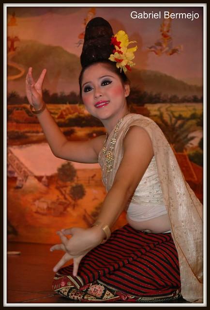 Danza oriental - Chiang Mai
