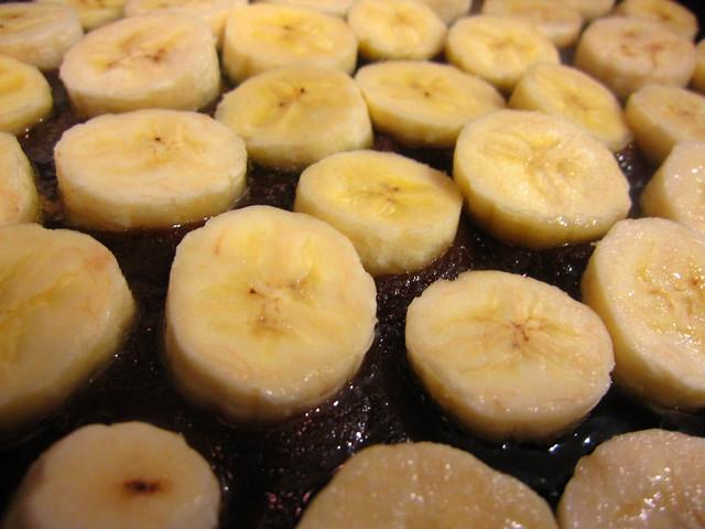 Bananas await their fate