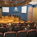 Thu, 25/03/2010 - 13:09 - Acto de clausura do Mes da Eficiencia Enerxética en Galicia. Na mesa, de esquerda a dereita, o director do departamento de Enerxía e Planificación Enerxética do Inega, Emérito Freire; o director do Inega, Eliseo Diéguez; e o xefe territorial da Consellería de Economia e Industria en Ourense, Gabriel Diéguez. Tecnópole. 25 de marzo de 2010.