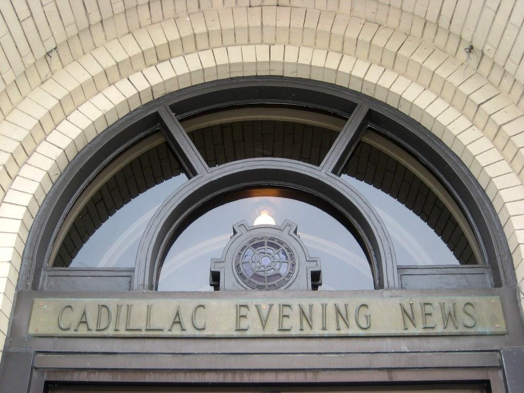 Cadillac Evening News >> Cadillac Evening News The Cadillac Evening News Today Sim Flickr