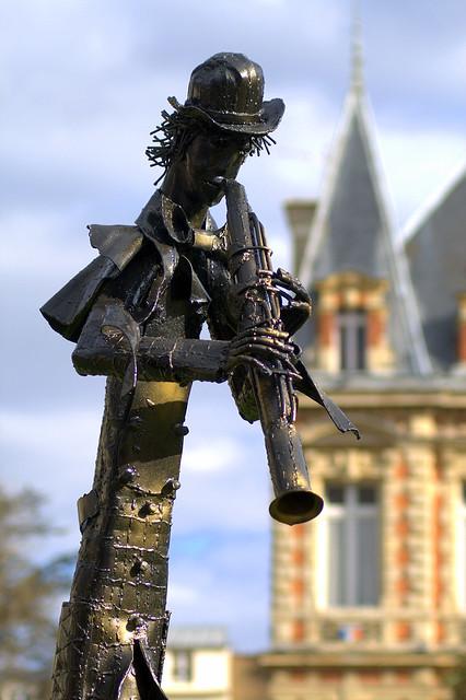 Bronze musicien 5