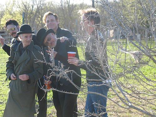Jesse Dayton & BP Fallon & Michael Des Barres & Danny B Harvey & Jimmy Quill @ Red Horse Ranch, TX | by bp fallon