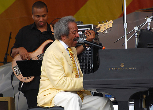 Allen Toussaint at Jazz Fest 2009