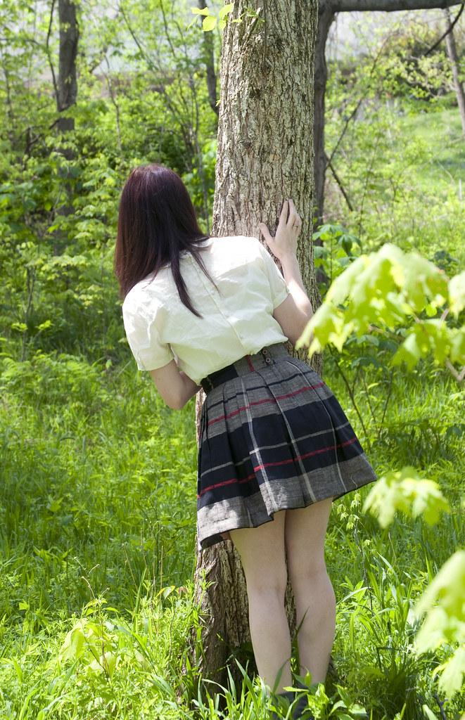 7d0b2dd455683f Vintage Mini Skirt | by strawberrykoi Vintage Mini Skirt | by strawberrykoi