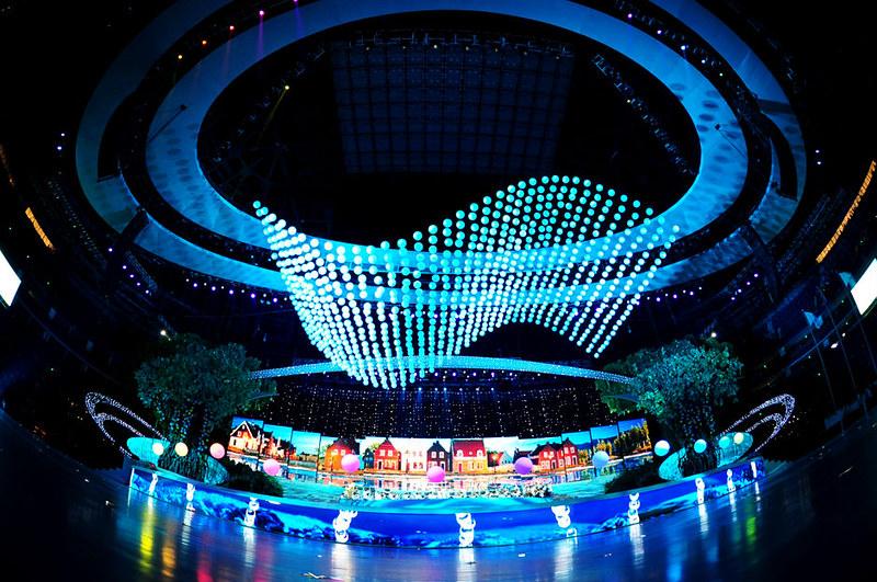 Performances at the opening ceremongy of 2010 World Expo in Shanghai 上海世博会开幕式在上海世博园世博文化中心举行