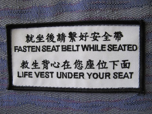 Fasten Seat Belt while seated | by monicamüller