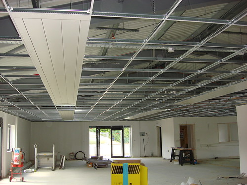 Suspended Ceiling Nearly Finished | by EpicFireworks