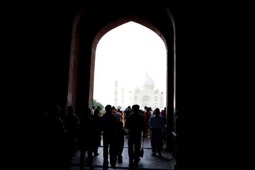 [India] タージマハールが向こうに | by kimama_labo