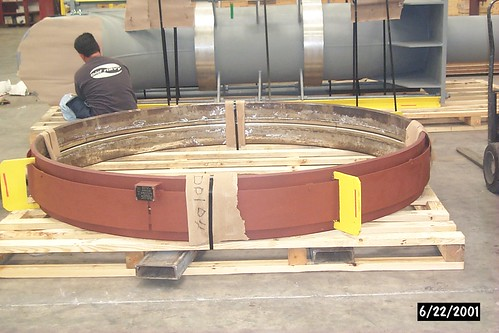 "92-inch I.D. toroidal bellow expansion joint for an ASME ""U"" stamp heat exchanger shell"