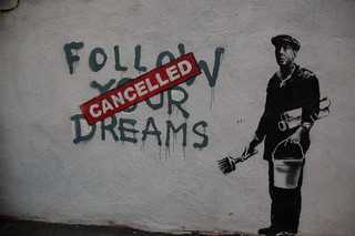 Banksy in Boston:  Follow Your Dreams (Cancelled) | by JoeInSouthernCA