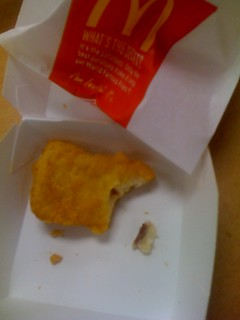 Found a bone in my chicken McNuggets | by longbored
