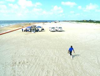 Clean Sand Dirty Sand - BP Deepwater Horizon Oil Spill