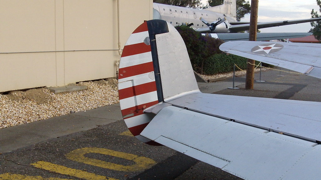 Beech At 11 Aft View Tail Rudder Elevator Trim Tab Ai Flickr