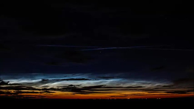 Dawn NLC Timelapse Compilation 03/07/17