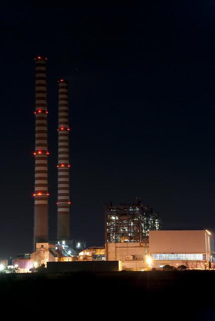 2009-01-18 - 01 - Golfo di Follonica - Torre del Sale - Centrale Enel