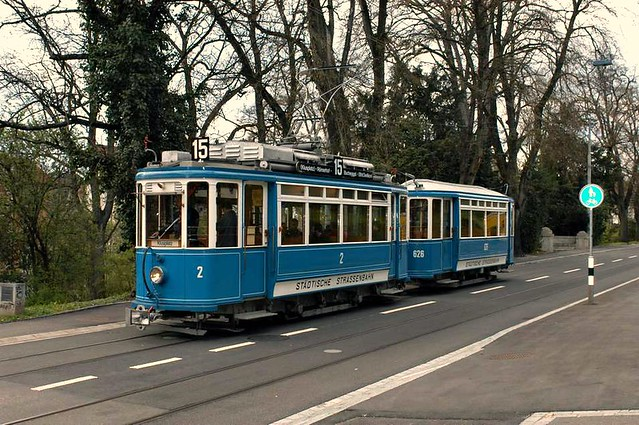 Tram Museum Zürich - Mai 2005