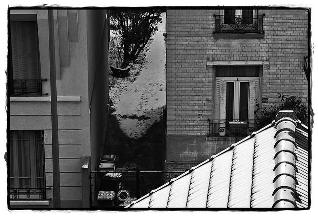 3 - 9 janvier 2010 Maisons-Alfort Rue Edmond Nocard Toits enneigés