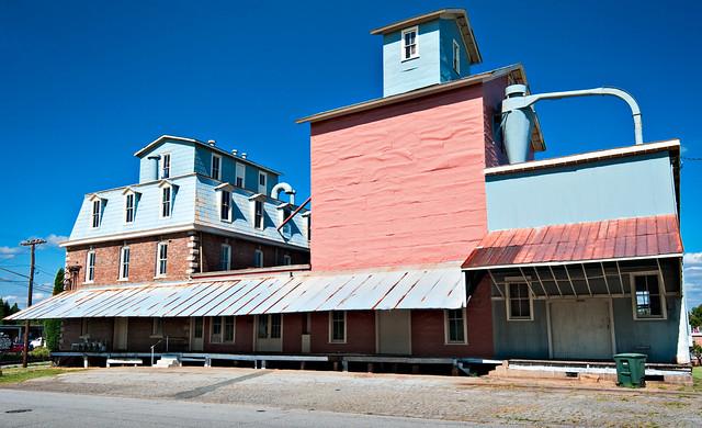 Grimes Mill (1896), 600 North Church Street, Salisbury, North Carolina (1753) pop. 28,972