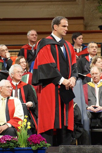 Martin Johnson at Leicester University Degree Ceremony | by David Spender