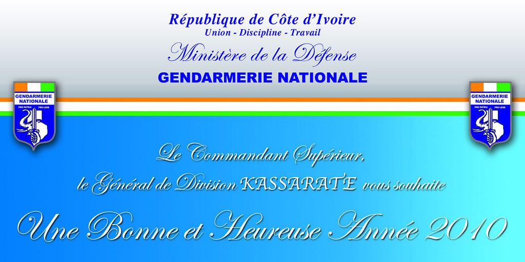 carte de voeux numérique Confection et Impression numérique Carte de voeux Gendarme… | Flickr
