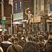 Raising Arms In Kensington Market