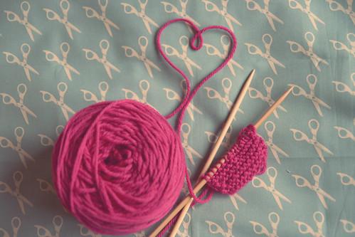 i think i'll ♥ to knit... | by karine*imagine