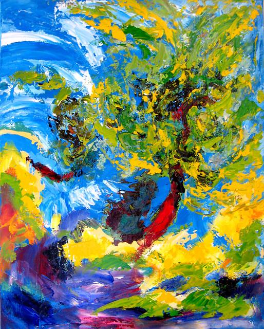Swirling Trees