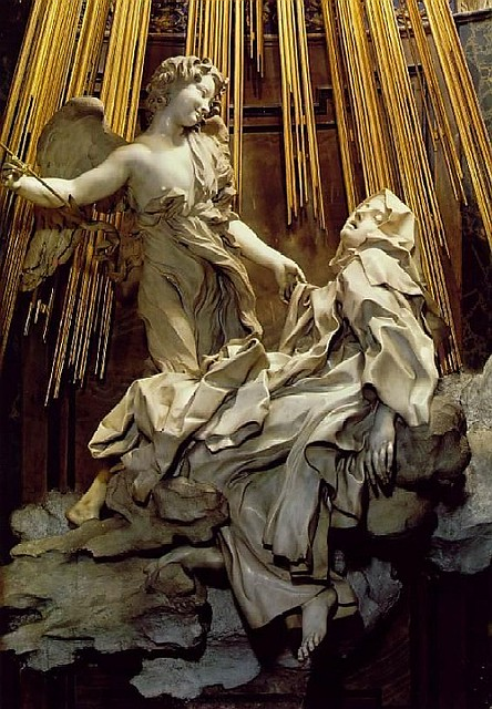 Bernini Rapture of Saint Theresa