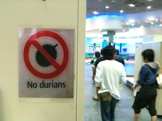 apparently the terrorists have weaponized durians these days