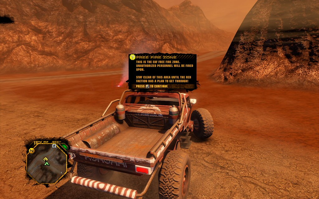 Red Faction Guerrilla Free Fire Zone Informatioon Flickr