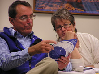 Sky Rangers Workshop -- Bryce Canyon National Park, October 2009...learning to use a planisphere