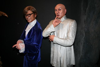 Mike Myers as Austin Powers and Dr Evil | by cliff1066™