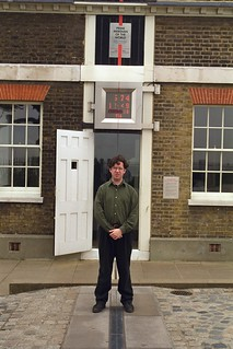 Me on prime meridian | by chris league