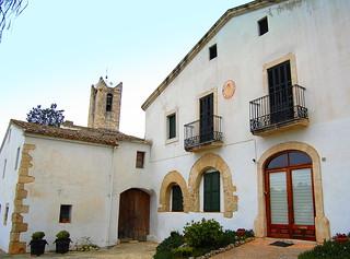 Antiga masia, campanar, Sant Pau d'Ordal, Subirats, Barcelona | by Angela Llop