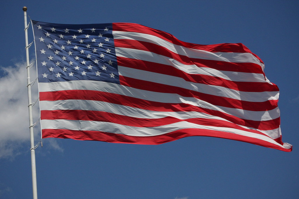 The Flag of the United States   A giant flag from the United…   Flickr