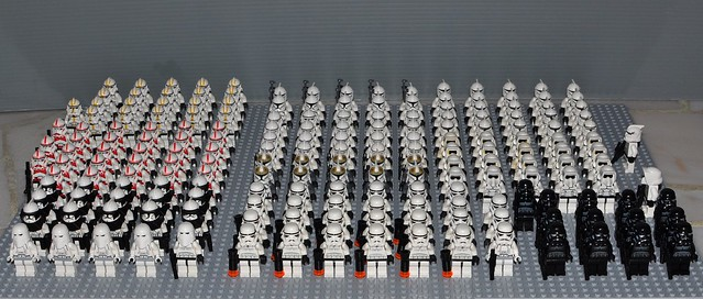 Star Wars Lego Clone Minifigs