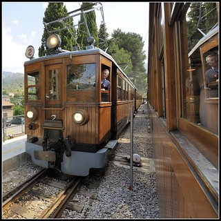 Train from Palma to Soller | by PaulODonnell