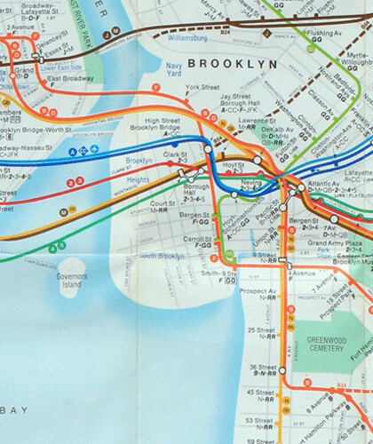 1979 Subway Map.Brooklyn 1979 The New Mta Subway Map And Yes Dumbo Is On Flickr