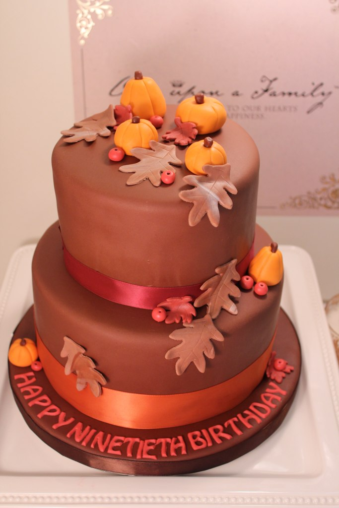 Incredible Fall Birthday Cake Kristy Flickr Funny Birthday Cards Online Elaedamsfinfo