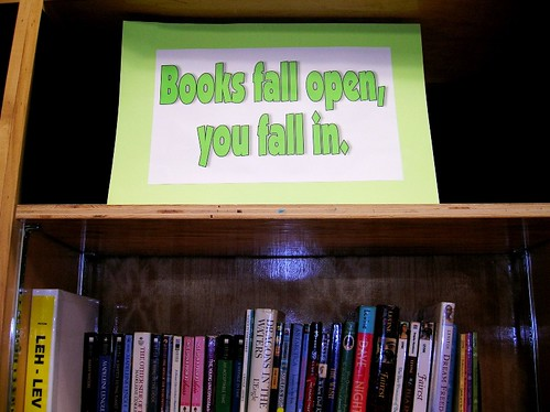 Books Fall Open, You Fall In | by Enokson