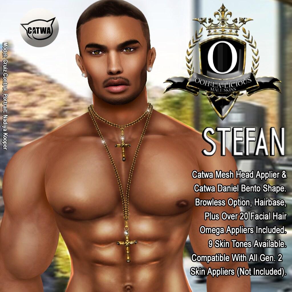 Ooh-la-licious® Stefan Catwa Mesh Head Applier + Catwa Dan