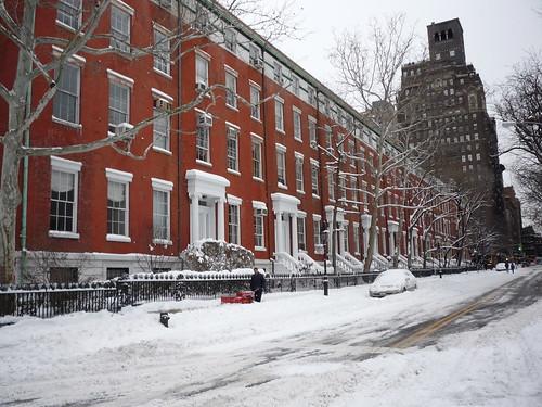 Snow, Washington Square, New York, December 20, 2009 | by Teri Tynes