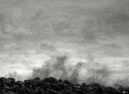 canada water clouds novascotia spray capebreton breakwater cs4 photomatix d700 portmorien niksfilters hdr7ex