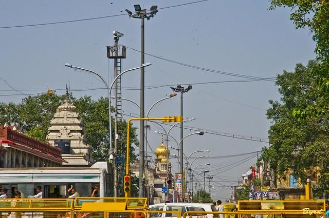 Chandni Chowk - Old Delhi main road