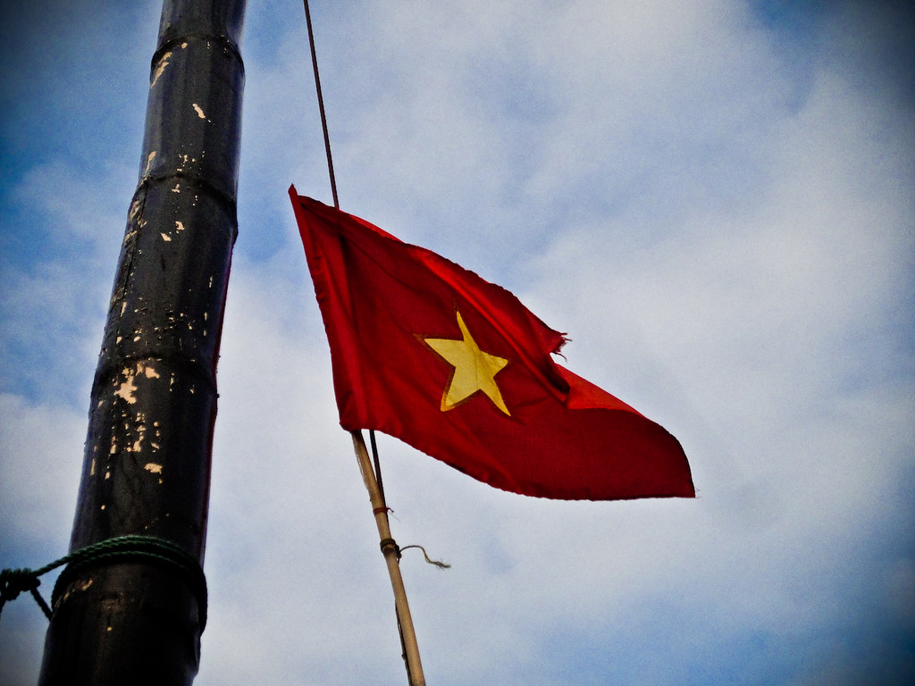 The Vietnamese Fly Their Flag With Pride Peter88khz Flickr