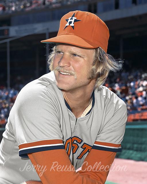 Jerry Reuss Houston Astros 1973