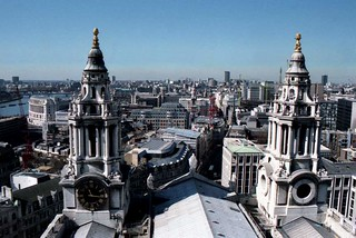 View from St. Pauls, London (1999)