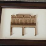 畫框裡的紙建築