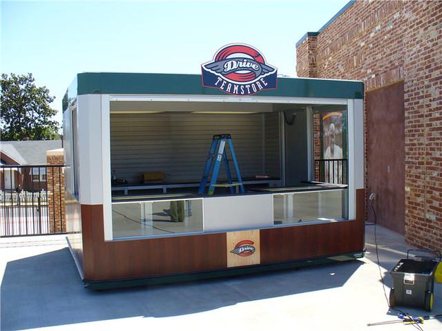 Outdoor Retail Kiosk Design | idzmiey | Flickr